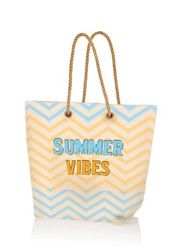 Plaj çantası 42x38 Cm - Summer-The Mia